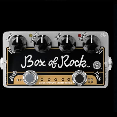 Zvex Vexter Box Of Rock 2 in 1 Boost and Distortion Pedal for sale