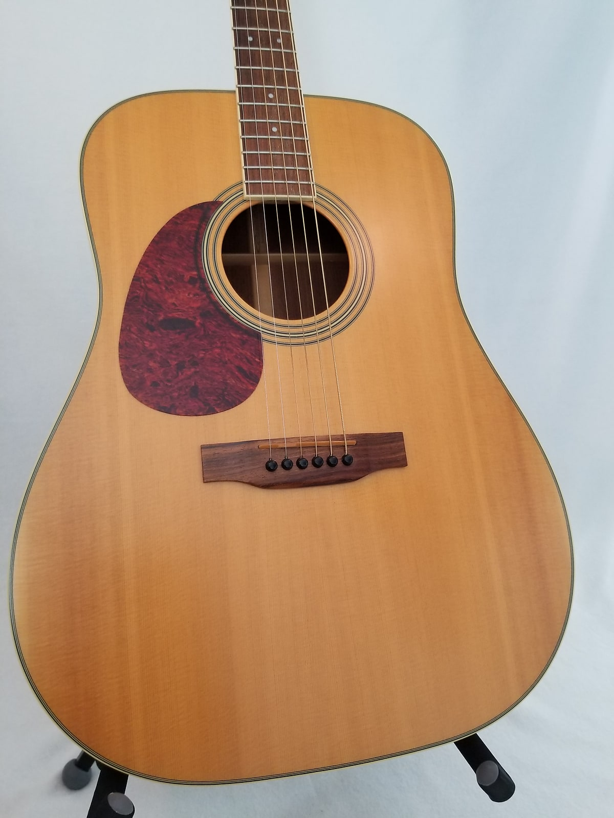 Carvin Acoustic Model C250 2005 Natural Satin Lefty With Hard Shell Case