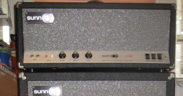 SUNN 200S Tube Amplifier 1968 All new caps reworked by pro