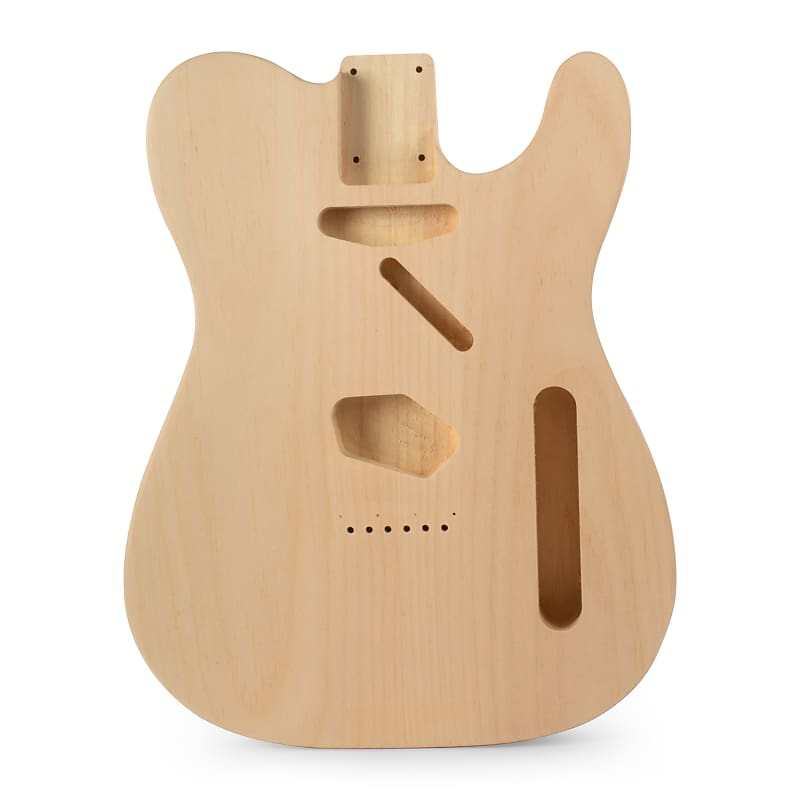 Golden Age Body for Tele, Clear Pine   StewMac