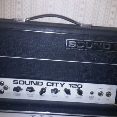 Sound City L/B 120 MK IV  all tube hand wired 120 watt tube amp for sale