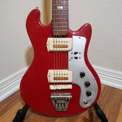 Guyatone LG 85T 60's Red for sale