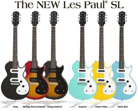 Epiphone Les Paul Sl Electric Guitar Sunset Yellow