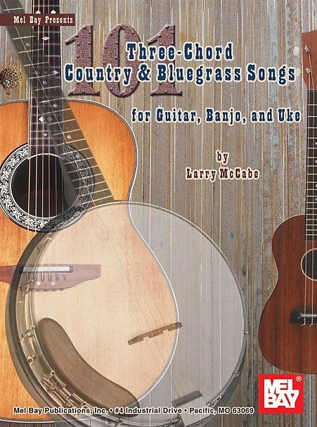 101 Three-Chord Country & Bluegrass Songs | Reverb