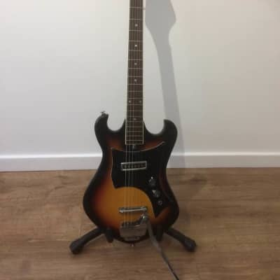Audition 6 String Electric Guitar Rare 60's Sunburst Fully Serviced and Set Up for sale
