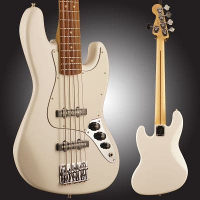 Player Jazz Bass V Pau Ferro Fingerboard Polar White image
