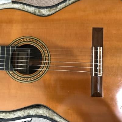 Robert Ruck Classical Guitar Cedar/Brazilian Rosewood 1985 French Polish for sale