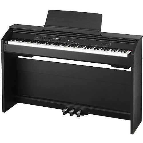 casio px850bk 88 key touch sensitive privia digital piano reverb. Black Bedroom Furniture Sets. Home Design Ideas