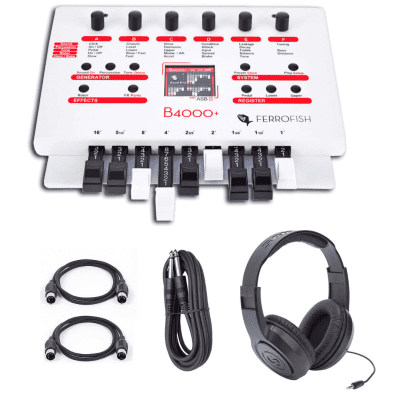 New Ferrofish B4000+ Legendary Hammond B3 Emulation in Pocket Size Format - with Freebies