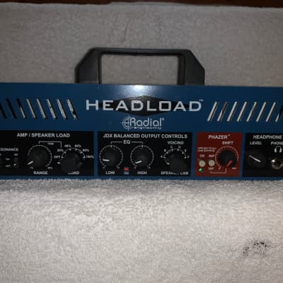 Radial Headload V8 Guitar Amp Load Box 8 Ohm Attenuator - Never Used, Like New Condition
