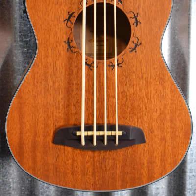 Ortega Guitars Pawel Maciwoda PM-SHAMAN Fretless Ukulele Uke U Bass & Bag #6892