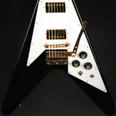 Gibson Custom Shop Limited Edition Jimi Hendrix 1969 Flying V Aged - Ebony #108 of 125