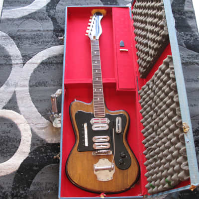 Crucianelli 1960's  Italian Guitar Project for Parts or Restoration for sale