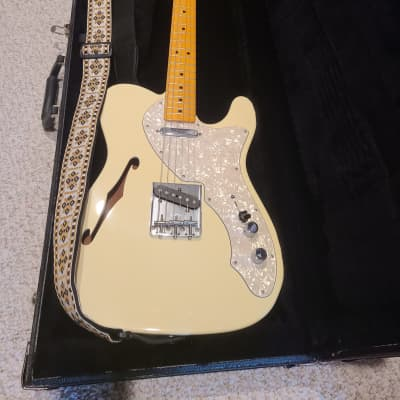 Fender Telecaster 69 American Vintage Thinline Reissue 2012 Olympic White for sale