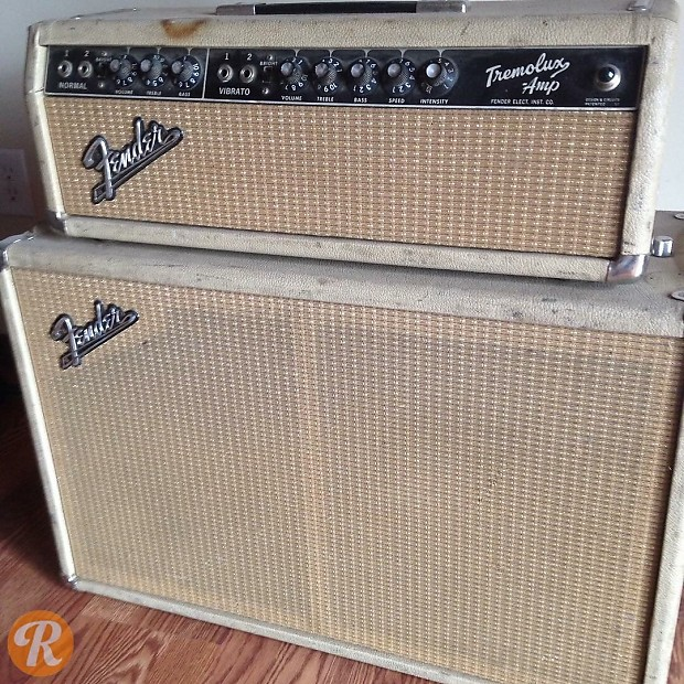 Fender Tremolux 2x10 Piggyback 1964
