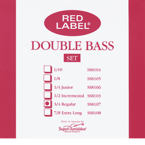 Red Label Double Bass Set