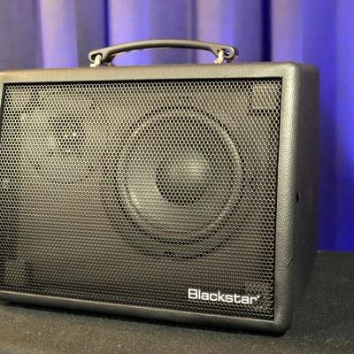 "Blackstar Sonnet 60 Natural Response 60-Watt 1x6.5"" Acoustic Guitar Amp 2020 Black"