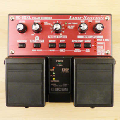 Boss RC-20XL Loop Station Twin Pedal - Guitar Or Vocal Looper Sampler Effect Pedal - VG Cond. image
