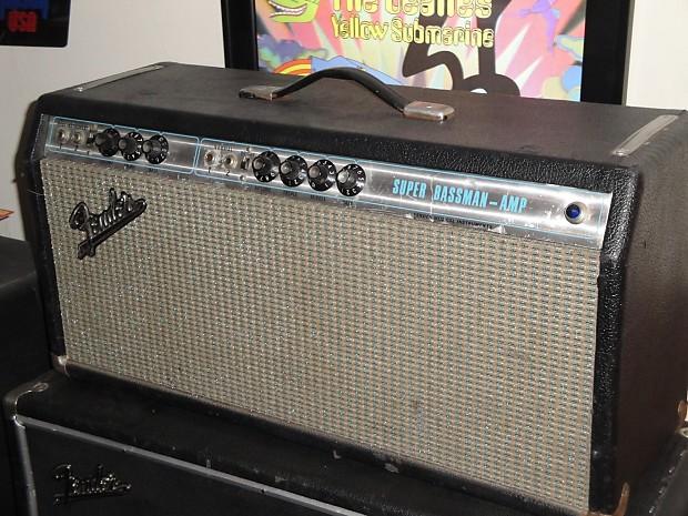 Fender Super Bassman 1969 Silver Reverb