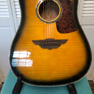 """Keith Urban Player Series! """"Signature Acoustic"""" 2016 Gloss Brazilian-Burst 6-String Beauty! for sale"""