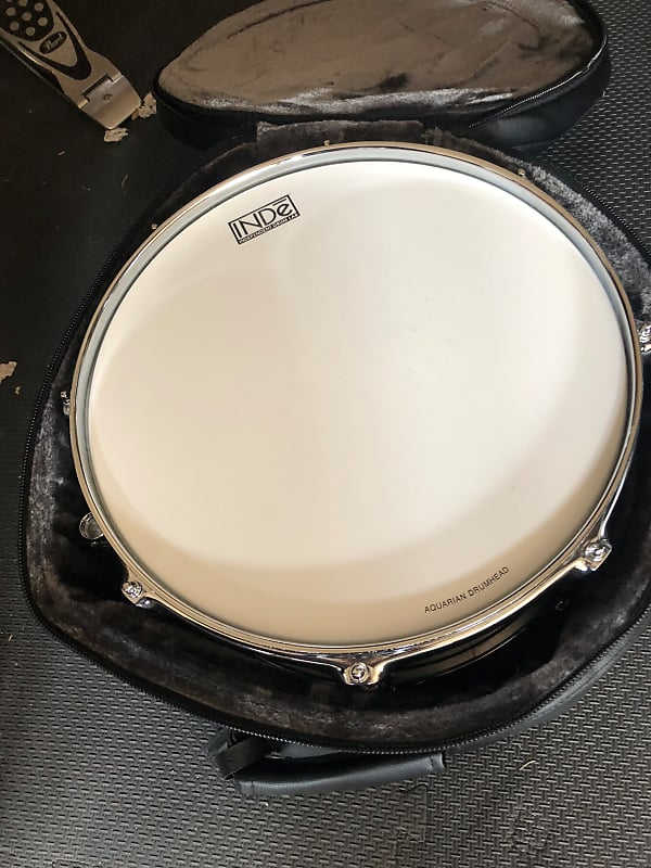 INDe Drum Lab Stainless Steel Snare Drum with CromaCast Bag image
