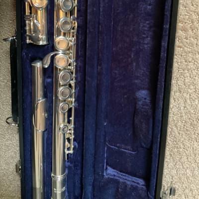 Jupiter JFL511 Silverplated Flute VERY Good