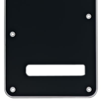 Fender Strat Backplate 3 Ply Black/White/Black