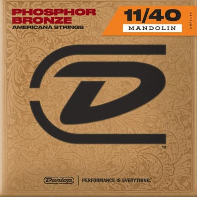 Dunlop DMP1140 Phosphor Bronze .11 - .40 Mandolin Strings