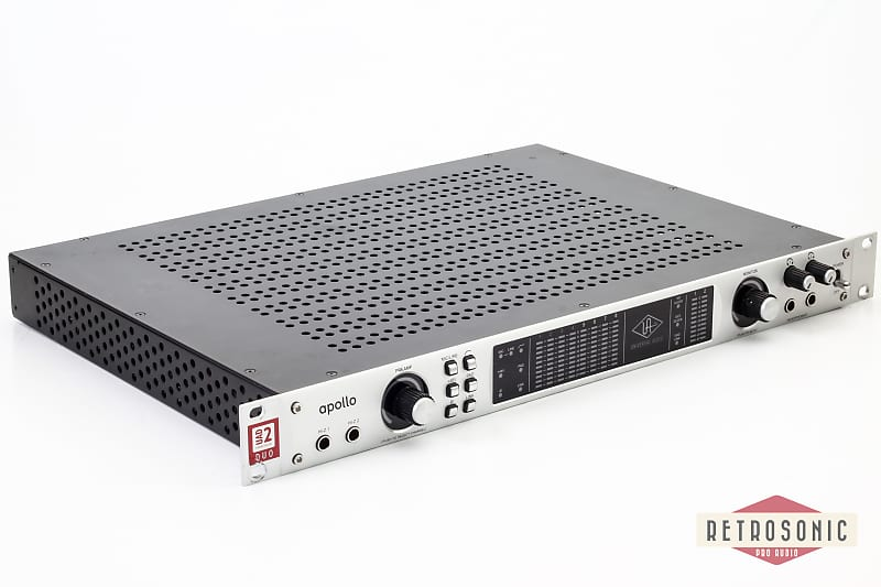 universal audio apollo duo firewire silverface reverb. Black Bedroom Furniture Sets. Home Design Ideas