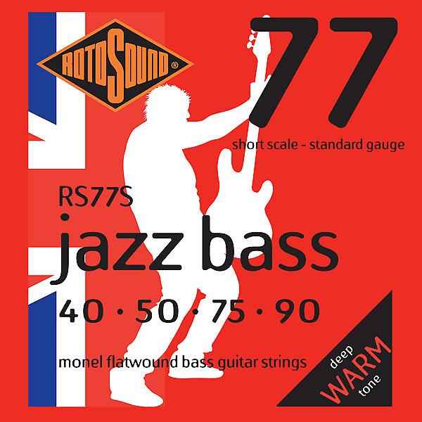Bass Strings Standard Gauge : rotosound rs77s flatwound short scale electric bass strings reverb ~ Russianpoet.info Haus und Dekorationen
