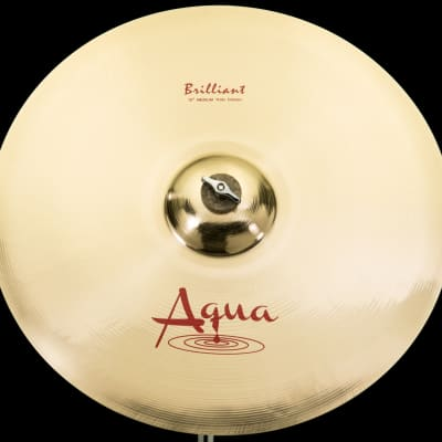 "Aqua 18"" Medium Thin Crash Brilliant"