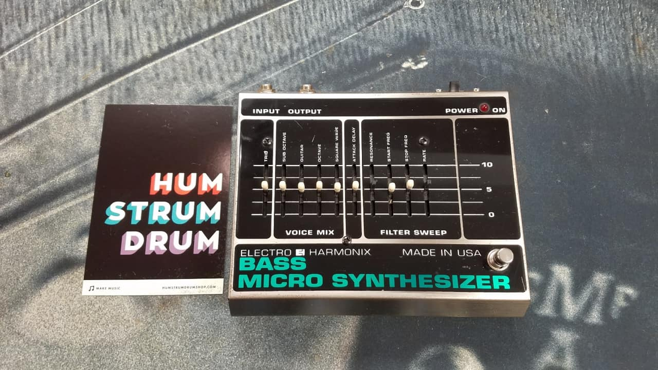 electro harmonix vintage bass micro synthesizer reverb. Black Bedroom Furniture Sets. Home Design Ideas