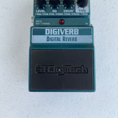 *For Parts/Repair* Digitech X-Series Digiverb Digital Reverb Guitar Effect Pedal