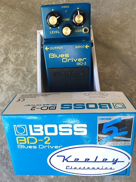 Boss bd-2 | blues driver.