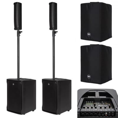 RCF EVOX J8 and JMIX8 Bundle + FREE Covers