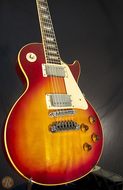 gibson les paul standard 1988 cherry sunburst price guide reverb. Black Bedroom Furniture Sets. Home Design Ideas