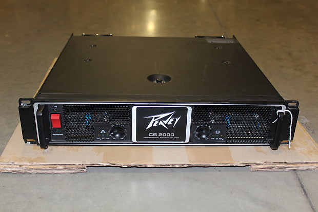 peavey cs2000 power amplifier reverb. Black Bedroom Furniture Sets. Home Design Ideas