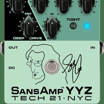 Tech 21 Sansamp YYZ (Geddy Lee) Bass Preamp Pedal