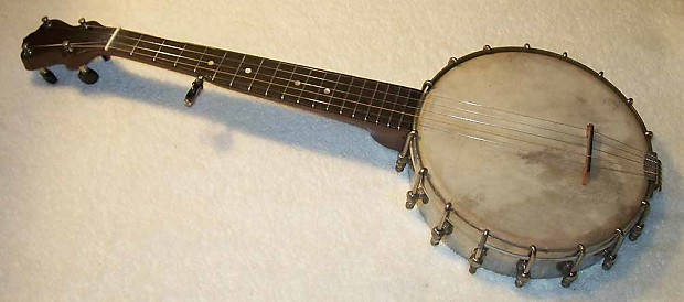 Lyon and Healy Short scale 5 string banjo 1920's