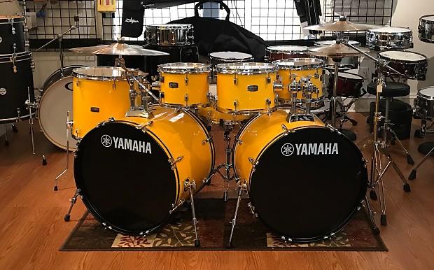 Yamaha Rydeen RDP2F5YL 7 Piece Double Bass Drum Set Shell