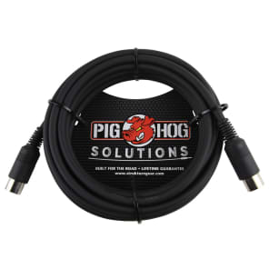 Pig Hog PMID15 Tour Grade MIDI Cable - 15'