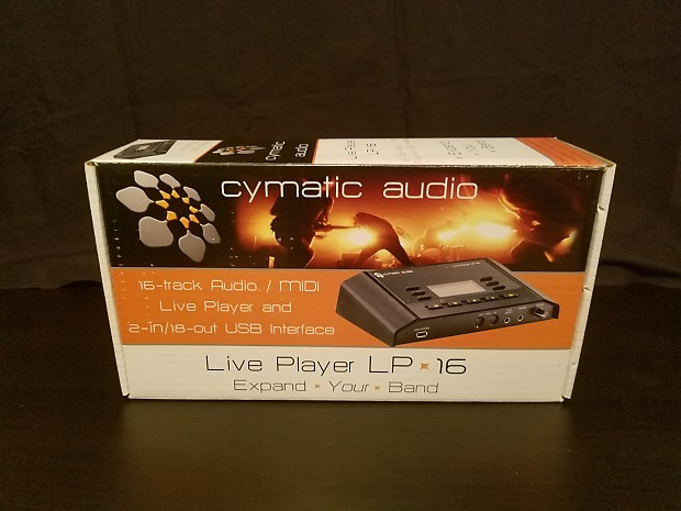 Cymatic Audio LP-16 Live Multitrack Player