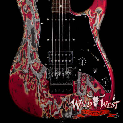 James Tyler USA Studio Elite Burning Water 2K Floyd Rose Rosewood Fingerboard with Midboost Preamp for sale
