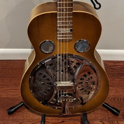 RedLine Custom Square Neck Dobro Guitar   Comes With Case, Strap and Tone Bar for sale