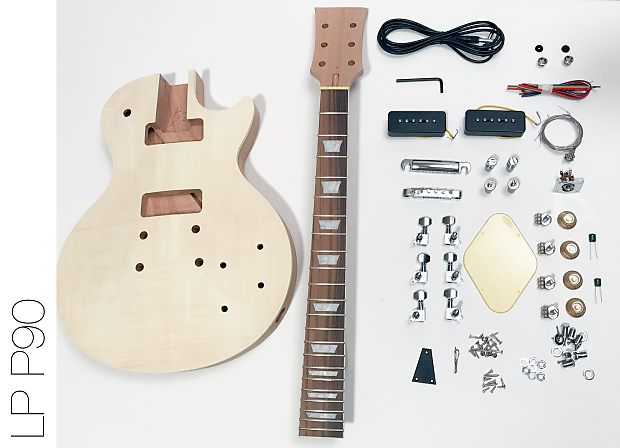 Fretwire Diy Guitar Kit : the fretwire diy electric guitar kit lp p90 build your own reverb ~ Russianpoet.info Haus und Dekorationen