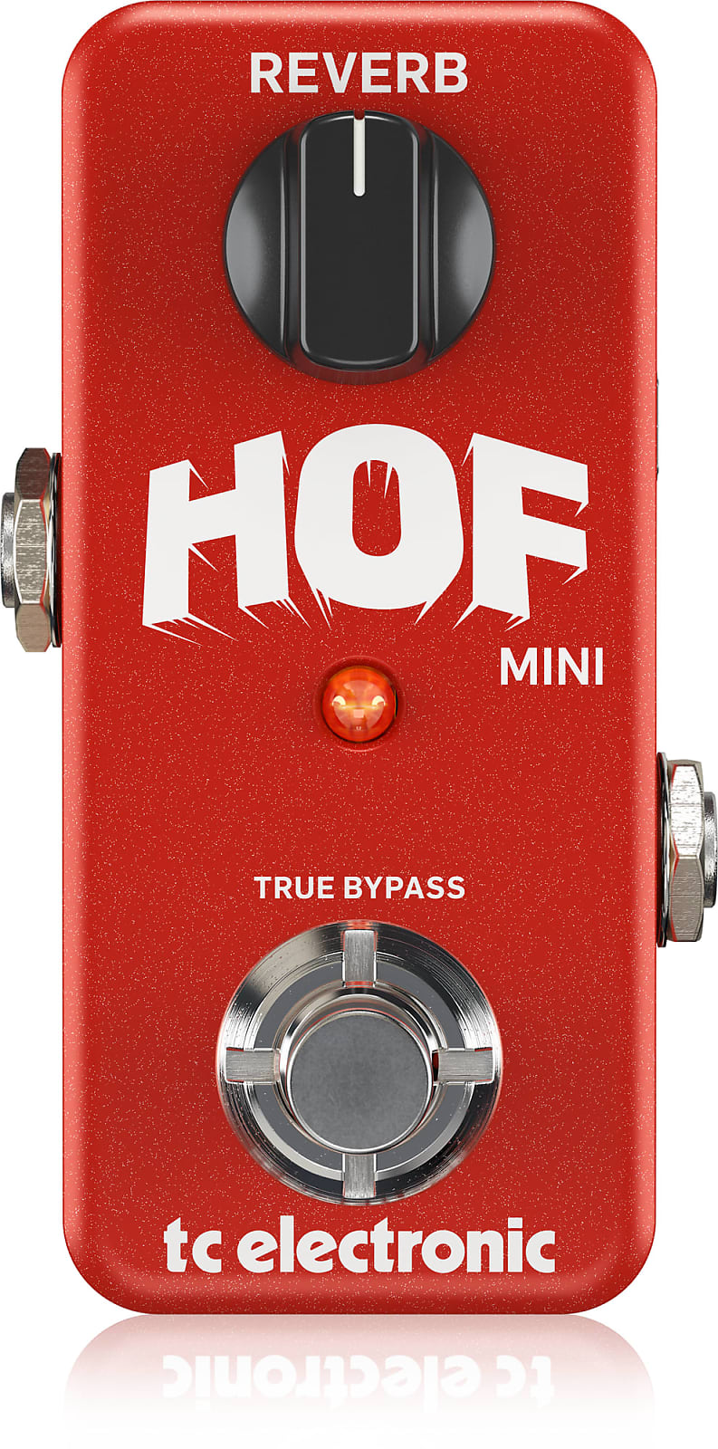 TC Electronic Hall of Fame Mini Reverb Effects Pedal