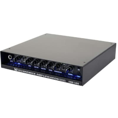 Warwick LWA 500 BLACK | 500W Compact Lightweight Bass Head. Brand New!