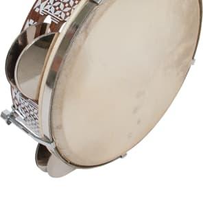 """Mid-East TAMB 8.5"""" Tunable Tambourine"""