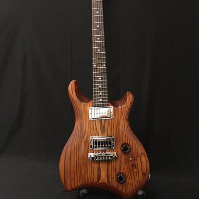 NAH Guitars Curve Carve Ash Electric Guitar 2020 Amber for sale
