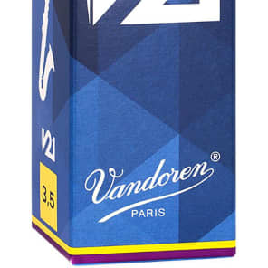 Vandoren CR8235 V21 Series Bass Clarinet Reeds - Strength 2.5 (Box of 5)
